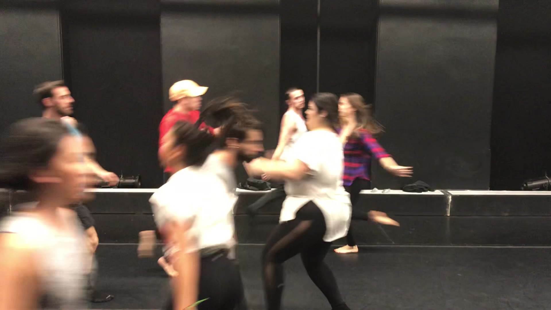 The Mask Rehearsal Footage