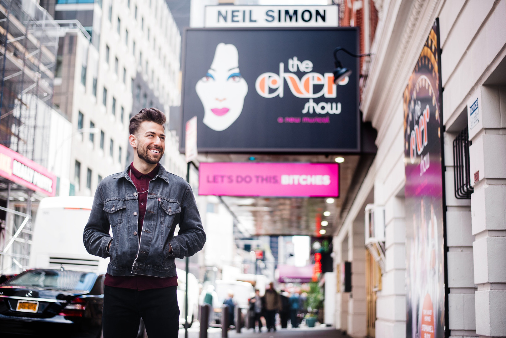 Cher Show Marquee