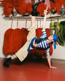Nicholas Cunningham in Moulin Rouge, Paris