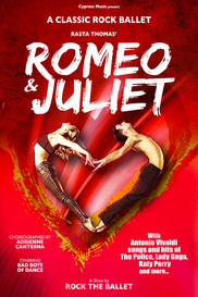 Romeo and Juliet Poster Bad Boys of Dance
