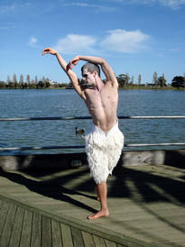 Nicholas Cunningham in Swan Lake