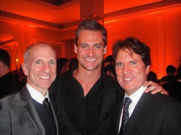 Nicholas Cunningham with Rob Marshall and John DaLuca