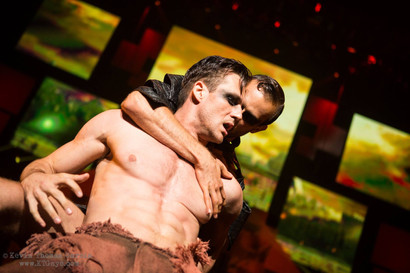 Broadway Bares Throne Games