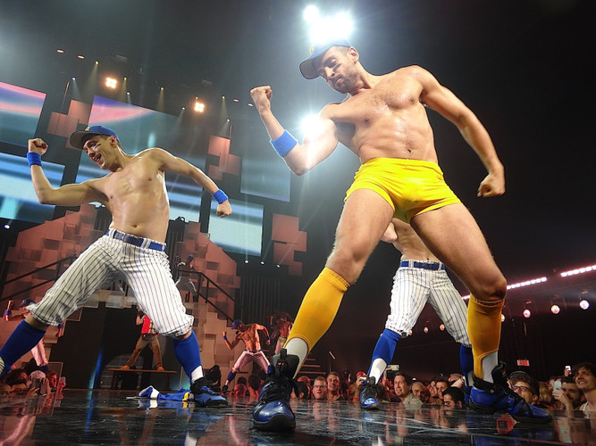 Broadway Bares - Bases Loaded