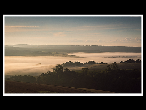 Dawn in The South Downs