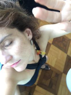 Mulher Brasileira Vendo