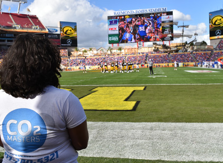 CO2 Masters Helps Create Clouds For The Outback Bowl