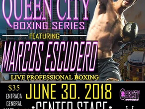 PAN AM GAMES COMPETITOR MARCOS ESCUDERO FEATURED IN QUEEN CITY BOXING SERIES EVENT