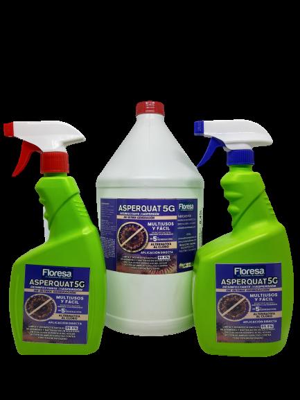 Desinfectante por aspersión 120, 500, 1000, 3800, 19000cc