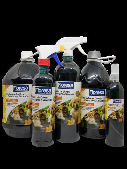 Desinfectante por aspersión. Eliminador de olores.250,500,1000,2000,3800,19000cc