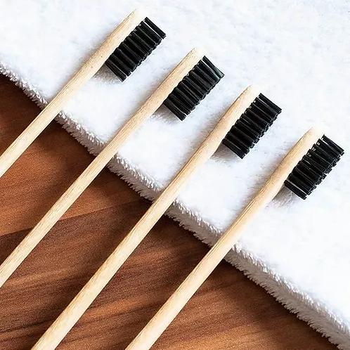 12 Cepillo De Dientes De Bambú Ecológico