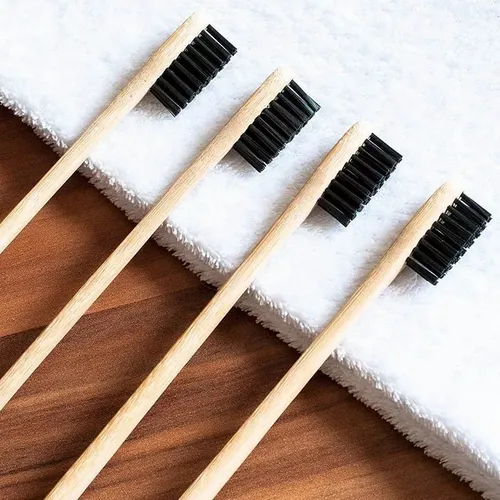 Cepillo bamboo cerda media