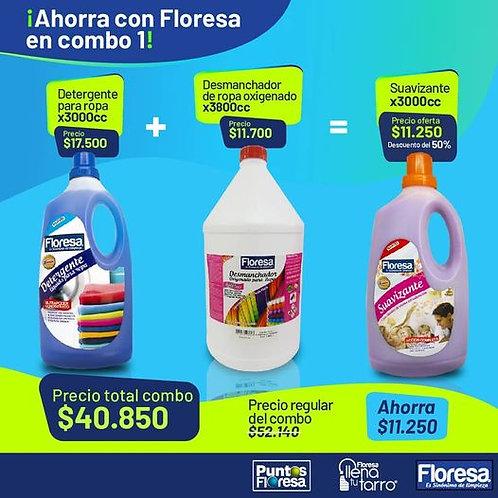 Detergente de Ropa 3000cc +Desmanchador Oxigenado 3800cc=-50%  Suavizante Extra