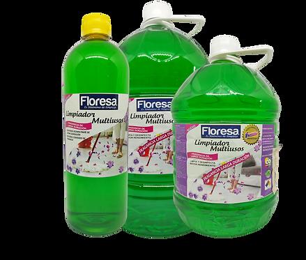 Limpiador fragancia larga duración frutos verdes. 1000, 3800, 5000, 19000cc