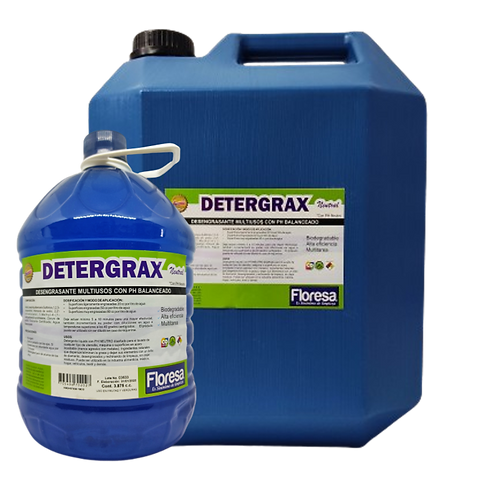 Detergente desengrasante multiusos con PH Balanceado 3800,19000cccc