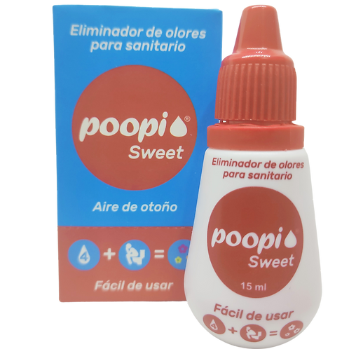 Eliminador de olores para sanitarios POOPI x und. Sweet