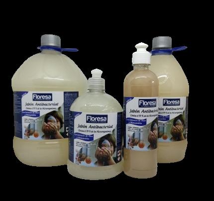 Jabón cremoso antibacterial