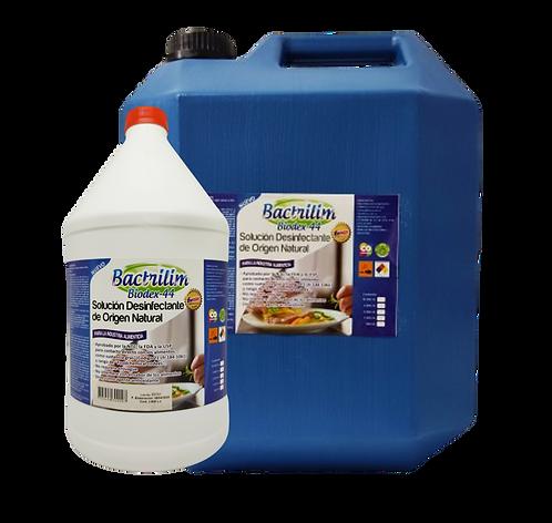 Solución desinfectante de origen natural. 3800, 19000cc.