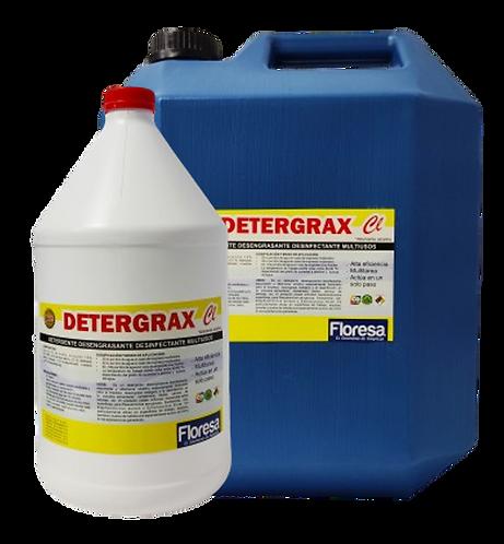 Detergente desengrasante multiusos clorado 3800,19000cccc