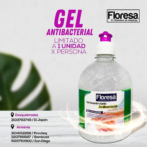 Gel Antibacterial x Litro