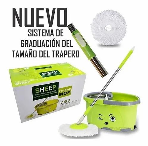 Trapero 360 Trapeador Con Mopa De Repuesto Gratis