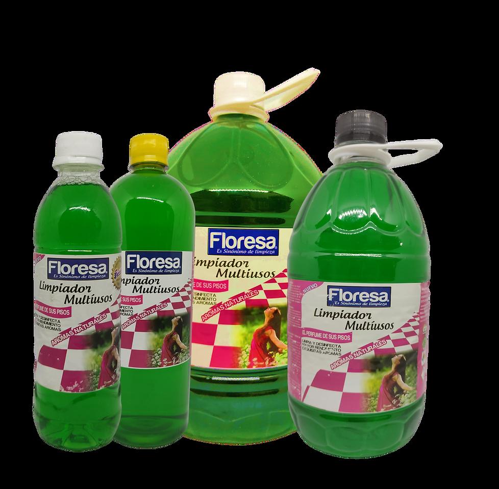 Limpiador Multiusos Frutos Verdes