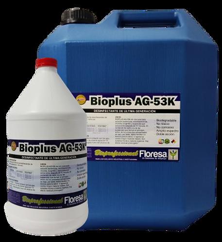 Desinfectante de última generación. Bioplus Ag 53K. 3800, 19000cc