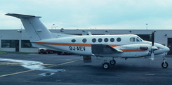 King Air 200 9J-AEV of Jointair made a lunch stop on 13th September 1984.
