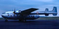 Noratlas 200/328-EK dropping off 'observers' at Newcastle on 3rd February 1984.