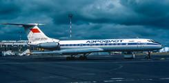 Aeroflot Tu-134A CCCP-65783 seen on 5th August 1984.