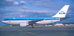 The spring of 1987 was a particularly good time for the KLM Amsterdam scheduled service - the new Boeing 737-300 fleet had just taken over full-time from the DC-9s during March, while high passenger loads on the 'KL161/2' on two occasions during April saw the carrier substitute the 737 with Airbus A.310s, PH-AGB on Friday 10th, and PH-AGG, shown above, on Monday 20th. PH-AGF followed on an additional 'KL1612/1622' rotation on Thursday 2nd July, Boeing 737-300 PH-BDH flying the '161/2' on that day. All three of our KLM A.310s ended their lives as freighters flying for FedEx.