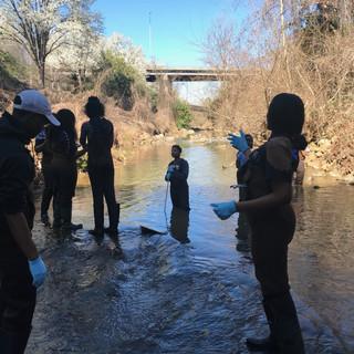 Irwin Creek - Urban Stream Ecology Lab