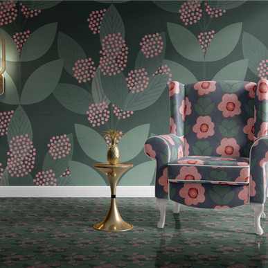 Flower Puff Wallpapers