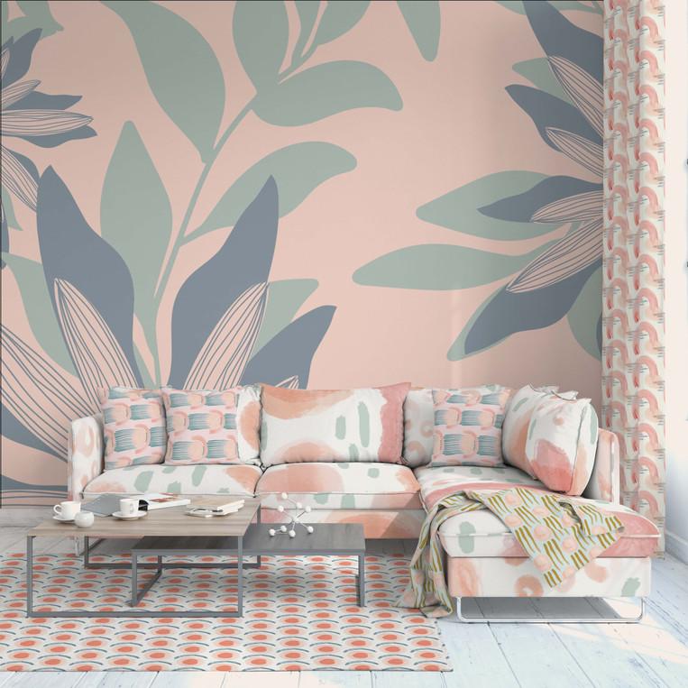 Modern Botanics Wallpaper