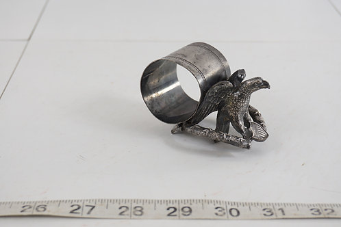 Victorian Napkin Ring - Eagle And Shield