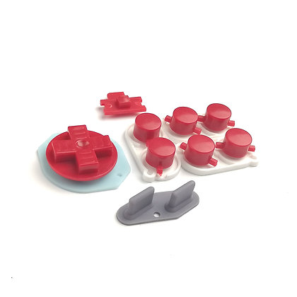 Gameboy DMG Buttons and Silicone Pads Kit