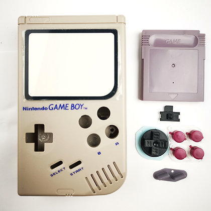 Gameboy Zero / 3 Case, Glass and Front Buttons Kit