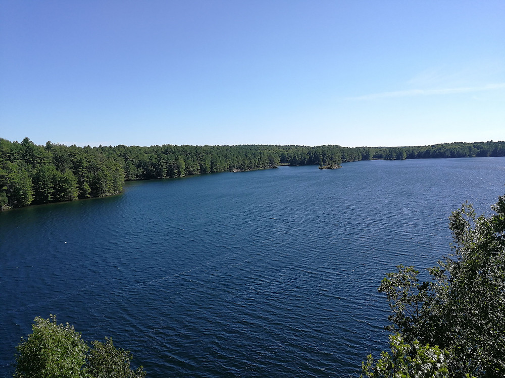ultimate one-day paddling route frontenac provincial park
