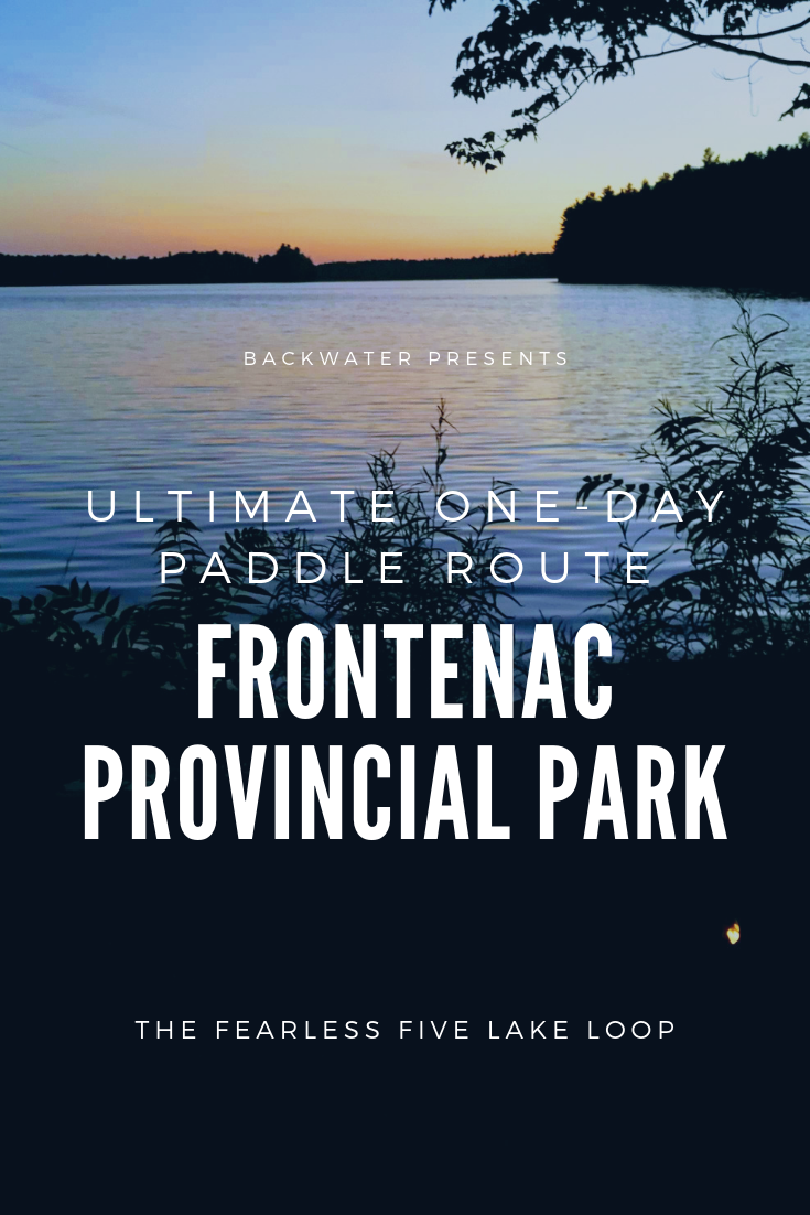 Frontenac Provincial Park Paddling