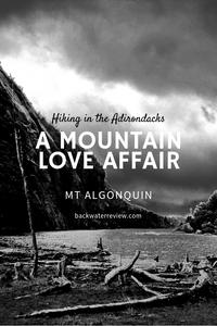 Hiking Mt Algonquin Adirondacks