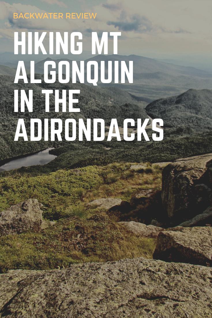 Hiking Mount Algonquin Adirondacks