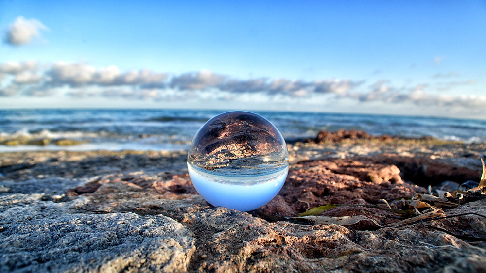Photography Gazing Crystal Ball Landscape