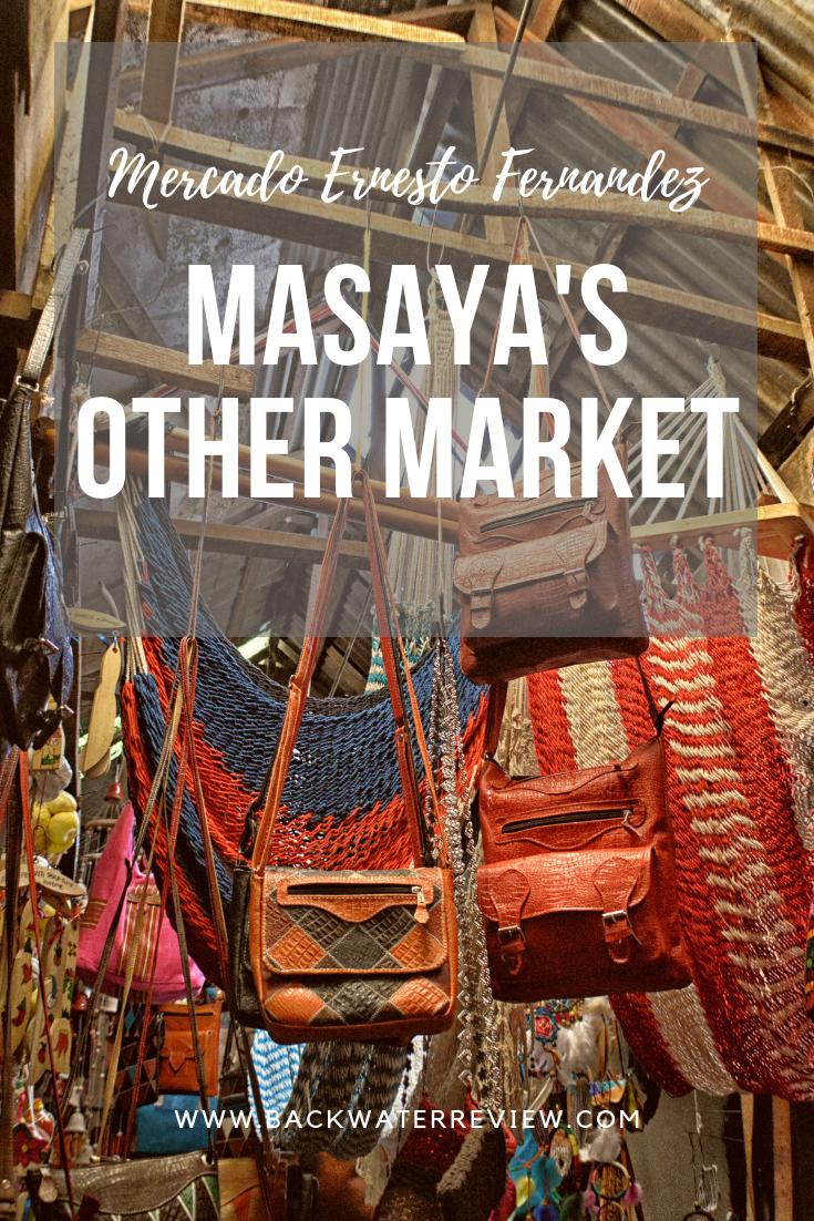 Masaya Municipal Market Ernesto Fernandez Nicaragua