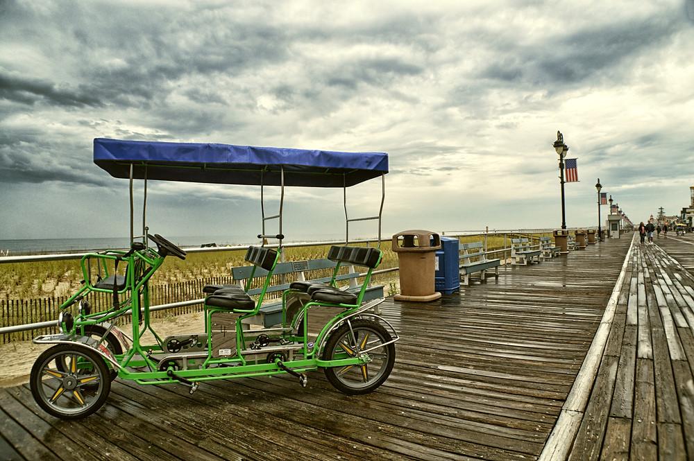 Atlantic City Boardwalk and Highlights