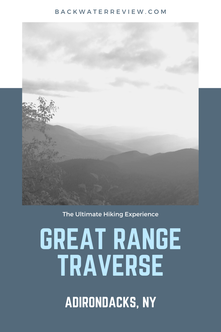 Great Range Traverse Adirondacks