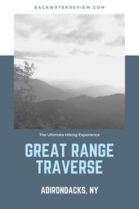 Great Range Traverse Adirondacks