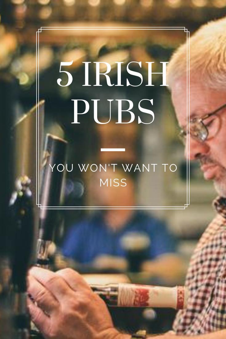 5 Irish Pubs in Ireland