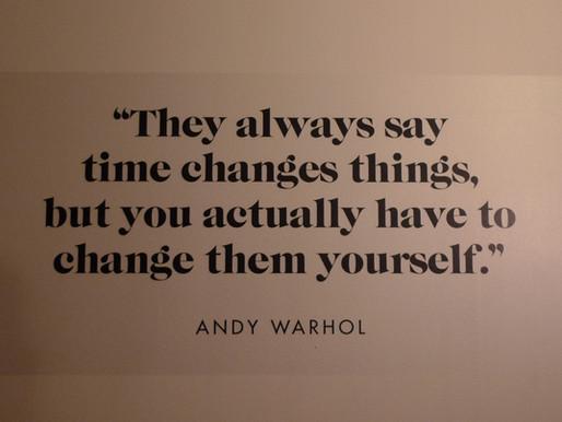 Sei du selbst und verändere die Welt