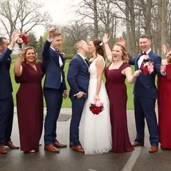 The Wedding of Sarah and Stuart