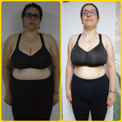 6 weeks transformation before & afte